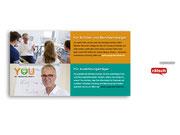 + Postkarte zur Kommunikation der Internetpräsenz