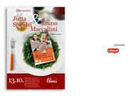 """+ Plakat """"Lesung"""" für ein Restaurant"""