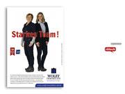 + Imagekampagne: Anzeigenmotiv »Starkes Team«