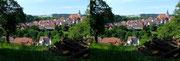 Gochsheim mit Kirche und Schloss - Foto P. Welker