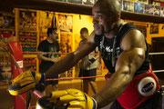 boxtrainer Peter okoroji zurRitze Hamburg St.Pauli