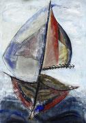 Acryl auf Papier     150 x 100 cm     1997