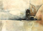 Acryl/Collage auf Leinwand     150 x 100 cm     1991