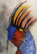 Acryl auf Leinwand     100 x 70 cm     2000