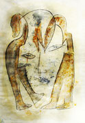 Acryl auf Papier     100 x 70 cm     1995