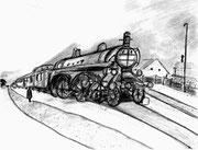 機関車(『白痴』/ドストエフスキー)