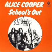 School's Out EP - Signed by Alice !