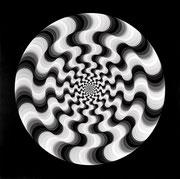 Wellenelement 2 multiple Rotation, 1966 − 1967