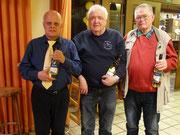 Hans-Wilhelm, Dieter & Günther - an jedem Spielabend dabei gewesen!
