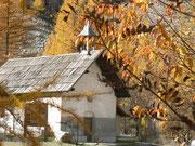 Chapelle Saint Pierre en automne