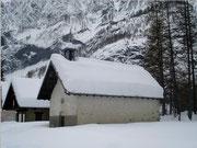 Chapelle Saint Pierre en hiver