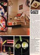 « Atelier-Résidence Londres » House & Garden, décembre 1973 / janvier 1974 - photos Martin Chaffer