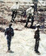 O.T. (Gruppe 4), 2002, Öl auf Leinwand, 140 x 120 cm
