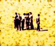 """""""Gruppe.Zufall"""", 2020, Öl auf Leinwand, 75 x 90 cm"""