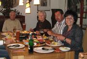 Elke, Herbert, Caro und Ulli