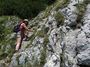 Steig zum Roßstein