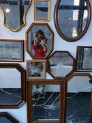 280 ans de réflexion, installation à l'Atelier-Galerie Bleu à Lille, 2016