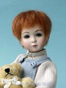 """""""KLÄUSCHEN"""",  Size: (11,81 inch), sitting: 7,09 inch,  Hair: Mohair"""