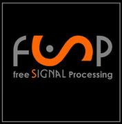 """Logo für open-source-projekt """"freeSP"""" Signalverarbeitung"""