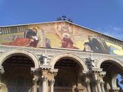 Iglesia de todas las naciones en el Huerto de Getsemaní