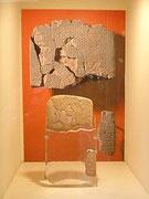 Ägyptisch-hethitischer Friedensvertrag (c. 1258 v. Chr.) zwischen Hattusili III, Puduhepa und Ramses II. Archäologisches Museum Istanbul
