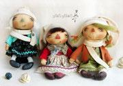Куколки-малютки, ростом 20 см и размером для ладошки :)