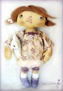 Лилу любит лето, потому что можно гулять в легком платьице, и собирать цветы прямо на лужайке за домом :)