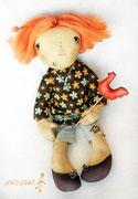 Несложно догадаться, что Кэнди - сладкоежка и озорная девчонка :)