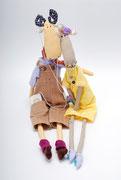 Лось Рауль и его невеста Лаура) Благоухают корицей и какао. Рауль уважает современные технологии и выбирает Apple, а Лаура очень ранимая барышня)  Образ и авторская выкройка Anne Pia Godske-Rasmussen.