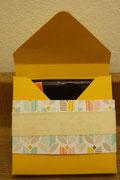 Punch Board Verpackung für eine 100g-Tafel Ritter Sport Schokolade