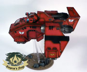 Stormraven Gunship  Blood Angels
