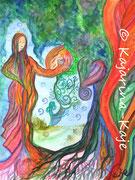 <h1>Weg in die Freiheit</h1><b>Verwendete Materialien/Größe</b><br/>Hochwertiger 300g/qm Künstlerkarton, Aquarell-Poesie, ohne Rahmen<br/>24cm x 32cm<br/><br/><b>Preis: Ich hab' schon eine Heimat</b>