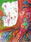 <h1>Wege des Herzens</h1><b>Verwendete Materialien/Größe</b><br/>Hochwertiger 300g/qm Künstlerkarton, Aquarell-Poesie, ohne Rahmen<br/>24cm x 32cm<br/><br/><b>Preis: Ich hab' schon eine Heimat</b>