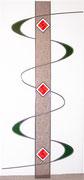 Verglasung mit Fusing-Element 2