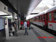 Endlich in Klagenfurt
