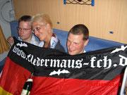 Unsere beiden Rostocker Fans