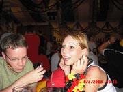 Tanjas Freund hatte Karten fürs Spiel. Wir hatten Tanja...  ;D