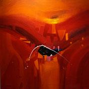 Arizona Sunset, 130 x 130 cm, Acryl   •    CHF 3 700.--