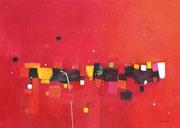 Square Dance, 120 x 80 cm, Acryl