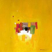 Sugar Field, 80 x 80 cm, Acryl