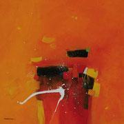 Bumerang, 80 x 80 cm, Acryl   •    VERKAUFT