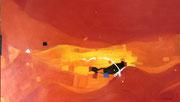 Summerwind, 120 x 70 cm, Acryl   •  CHF 3 600.--