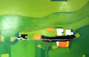 Green Forest, 110 x 70 cm,  Acryl