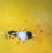 California Sun, 100 x 100 cm, Acryl
