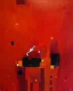 Summer in the City, 100 x 120 cm, Acryl