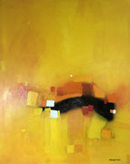 Shades of Amber, 80 x 100 cm,  Acryl   •   CHF 3 200.--