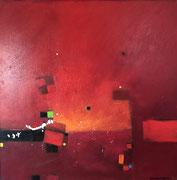 Cassis, 80 x 80 cm, Acryl   •  CHF 3 200.--