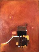 Tuscany Terrace, 60 x 80 cm, Acryl