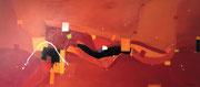 Midnight Sun, 170 x 75 cm, Acryl   •   CHF 3 800.--