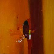 Take Off, 60 x 60 cm, Acryl